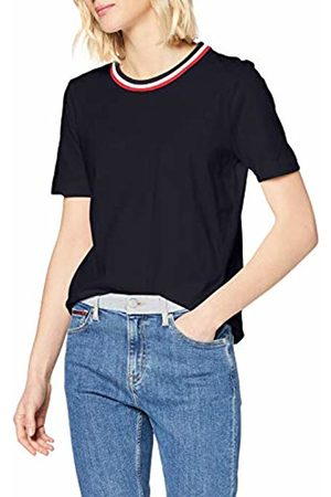Tommy Hilfiger Women's TH Essential C-NK TOP SS Sports Knitwear