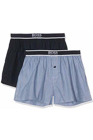 HUGO BOSS Men's Boxer Shorts Exposed Waistband Pyjama Set