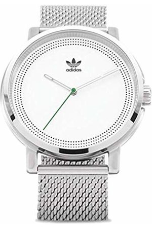 adidas District M2 Watch One Size Silver White Green
