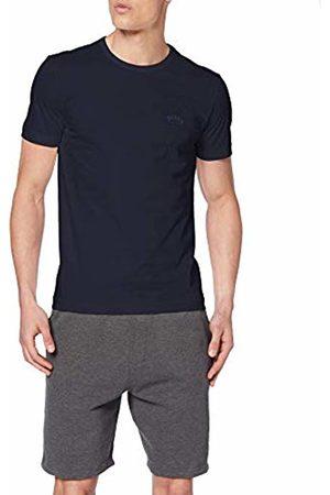 BOSS Men's Tee Curved Plain T-Shirt T-Shirt