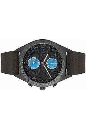 Christian Lacroix Mens Quartz Watch with Leather Strap CLMS1803