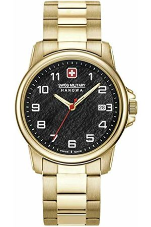Swiss Military Hanowa Watches - Unisex Adult Analogue Quartz Watch with Stainless Steel Strap 06-5231.7.02.007
