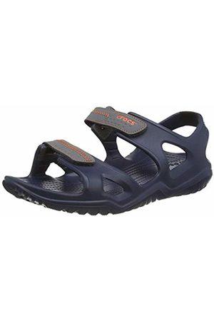 Crocs Men's Swiftwater River Sandal Open Toe, (Navy/Slate 4he)