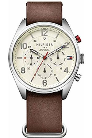 Tommy Hilfiger Men's Analogue Quartz Watch with Leather Strap 1791188
