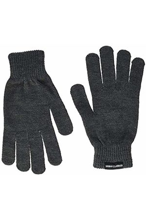 Urban classics Gloves - S Knitted Gloves (Charcoal 00091)