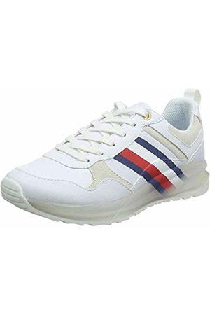 Tommy Hilfiger Women's Tommy Corporate Sporty Sneaker Low-Top, ( 100)