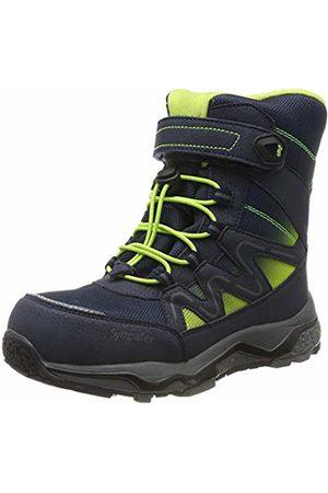 Lurchi Boys Snow Boots - Boys' Lizard-Sympatex Snow Boots, (Navy 32)