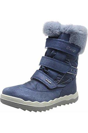 Primigi Girls' Pfz Gore-tex 43823 Snow Boots, (Azzurro/Jeans 4382322)