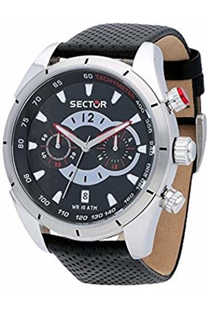 Sector Men's Chronograph Quartz Watch with Leather Strap R3271794002