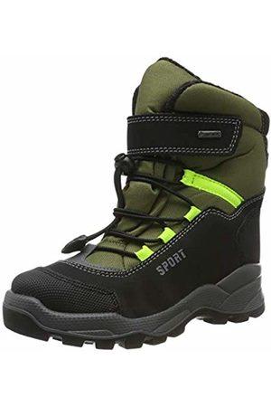 Primigi Boys Snow Boots - Boys' Prw Gore-tex 43962 Snow Boots, (Nero/Oliva/Nero 4396200)