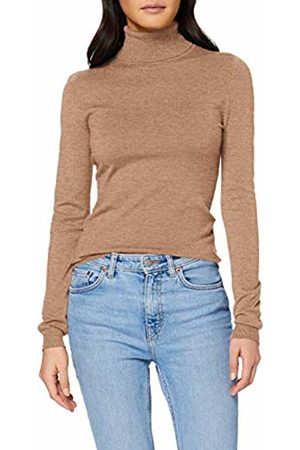 Vero Moda Women's Vmhappy Basic Ls Rollneck Blouse Boo Pi Turtleneck