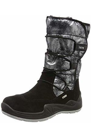 Primigi Girls' Pwi Gore-tex 43808 Snow Boots, (Nero/Antracite 4380800)