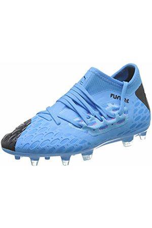 Puma Unisex Kid's Future 5.3 Netfit FG/AG JR Football Boots, (Luminous -Nrgy - Alert 01)