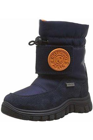 Naturino Boys Praz Snow Boots, (Bleu 0c01)