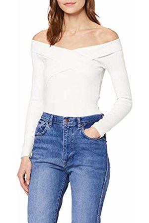 Miss Selfridge Women's Bardot Rib TOP Sweater