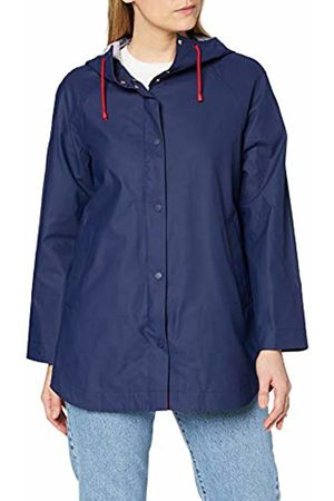 Tommy Hilfiger Women's Bonnie Rainwear Parka Jacket, (Peacoat)