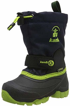 Kamik Unisex Kids' Waterbug9g Snow Boots, (Navy Lime Nlm)