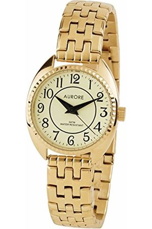 AURORE Womens Analogue Quartz Watch with Stainless Steel Strap AF00048