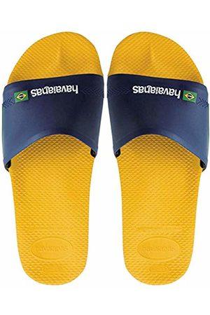 Havaianas Slide Brasil, Unisex Adult's Flip Flops, (Banana )