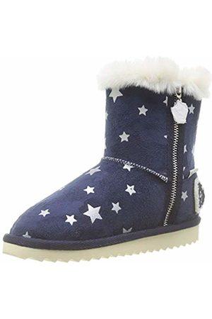 Pepe Jeans London Girls' Angel Print Snow Boots, (Navy 595)