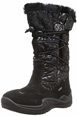 Primigi Girls' Pwi Gore-tex 43809 Snow Boots, (Nero/Nero 4380911)