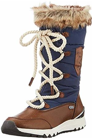 Marco Tozzi Women's 2-2-26824-23 Snow Boots, (Navy Comb 890)