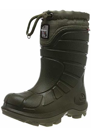 Viking Unisex Kids' Extreme Snow Boots, (Huntinggreen/Olive 2437)