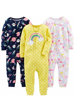 Simple Joys by Carter's 3-pack Snug Fit Footless Cotton Pajamas Set