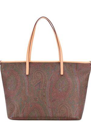 Etro Women Shopper & Tote Bags - Paisley print tote bag