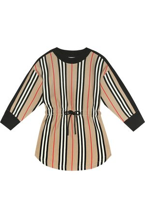 Burberry Baby Printed Dresses - Aurora Icon Stripe cotton dress