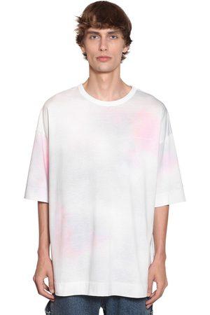 JUUN.J Tie Dyed Cotton Jersey T-shirt