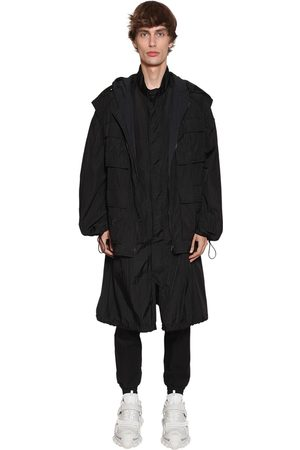JUUN.J Nylon Raincoat & Hooded Vest