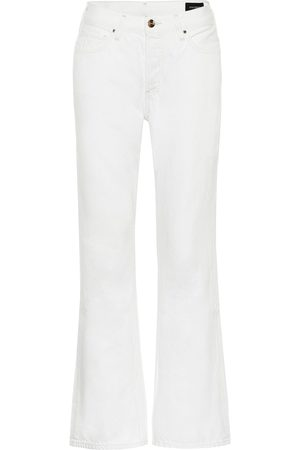 Goldsign High-rise cropped flared jeans