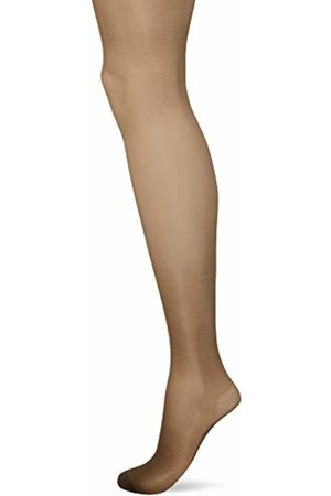 Pretty Polly Women's On The Go 10D Ladder Resist compression tight, 10 DEN