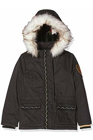 IKKS Girl's Parka Longue Capuche Raincoat