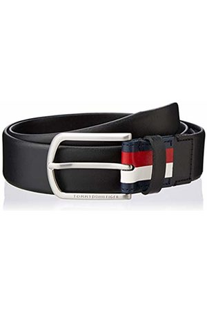 Tommy Hilfiger Men's Crescent Long Buckle Belt 3.5