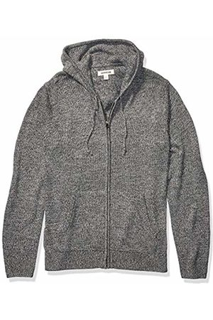 Goodthreads Supersoft Marled Fullzip Hoodie Sweater Charcoal