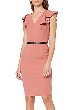 Dorothy Perkins Women's Ruffle Pencil Dress (Will Party