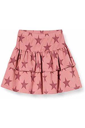 Green Cotton Girl's Star Skirt