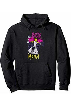 Cute Boston Terrier Gifts Cute Womens Boston Terrier Mom Gift Boston Terrier Pullover Hoodie