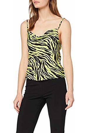 Miss Selfridge Women's Multi Colour Zebra Print Camisole Top Tank