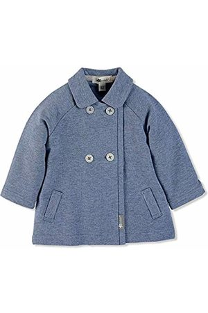 Sterntaler Boys Collared Sweat-Jacket, Double-Button Placket, Age: 9-12 Months, Size: 12m