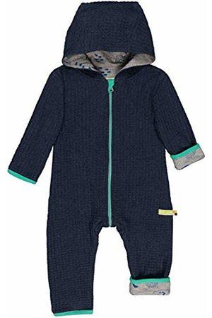 loud + proud Baby Wendeoverall Strick Aus Bio Baumwolle, GOTS Zertifiziert Footies