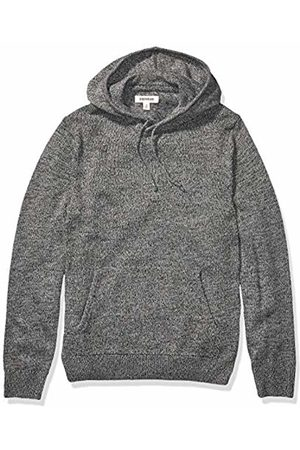Goodthreads Supersoft Marled Pullover Hoodie Sweater Charcoal