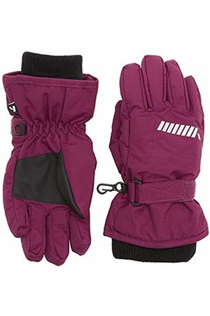 Name It Girl's Nitstorm Gloves Nmt G Fo Mittens, (Dark )