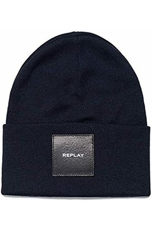 Replay Ax4167.001.a7059 Beanie, (Dark Night 507)