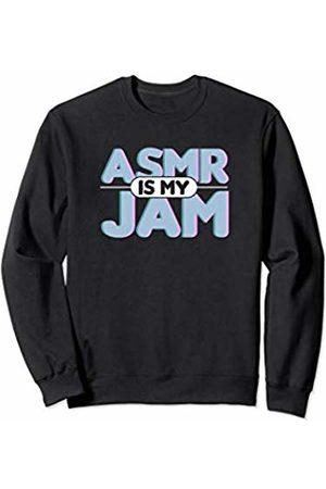 Autonomous Sensory Meridian Response ASMR Shirts Retro ASMR is My Jam Fun Funny ASMR Shirt Men Women Sweatshirt
