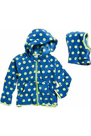 Playshoes Baby Girls' Set Fleece-Jacke Schlupfmütze Punkte Jacket