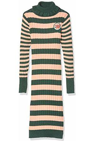 Scotch&Soda Girl's Turtle Neck Rib Knit Dress in Long Length