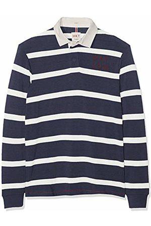 HKT by Hackett Hackett London Men's Hkt Ls Str Rby Polo Shirt